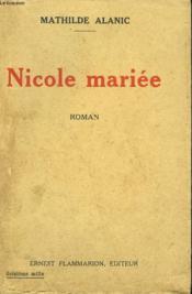 Nicole Mariee. - Couverture - Format classique