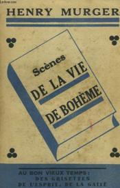 Scenes De La Vie De Boheme - Couverture - Format classique