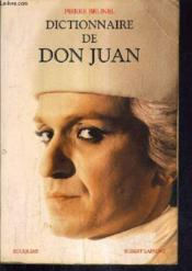 Vente  Dictionnaire de don juan  - Pierre Brunel