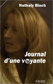 Vente  Journal d'une voyante  - Nathaly Bloch