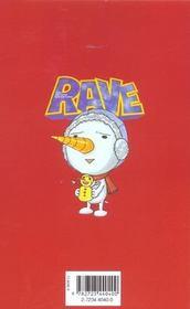 Rave t.2 - 4ème de couverture - Format classique