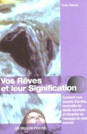 Vos Reves Et Leur Signification - Intérieur - Format classique