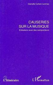 Causeries sur la musique ; entretien avec des compositeurs - Intérieur - Format classique