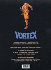 Vortex t.8 ; tess wood et campbell - 4ème de couverture - Format classique