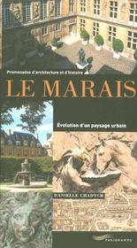 Le marais, evolution d'un paysage urbain - Intérieur - Format classique