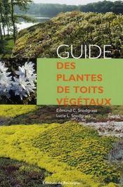 Guide des plantes de toits végétaux - Intérieur - Format classique