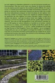 Guide des plantes de toits végétaux - 4ème de couverture - Format classique