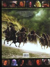 Le Seigneur Des Anneaux - La Communaute De L'Anneau - 4ème de couverture - Format classique