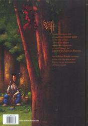 Sagah-nah t.2 ; la confrerie des tueurs de monstres - 4ème de couverture - Format classique