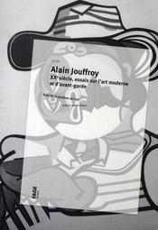 XX siècle ; textes sur l'art moderne ; fantôme de l'art - Intérieur - Format classique