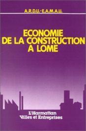 Économie de la construction à Lomé - Couverture - Format classique