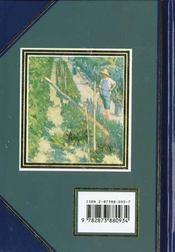 Passion des jardins - citations - 4ème de couverture - Format classique