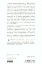 Des Pas Dans La Poussiere - 4ème de couverture - Format classique