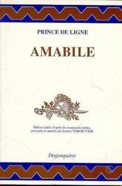 Amabile - Couverture - Format classique