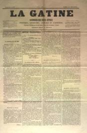 Gatine (La) N°29 du 24/09/1870 - Couverture - Format classique