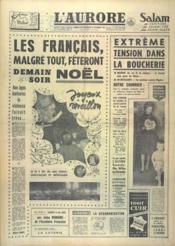 Aurore (L') N°5382 du 23/12/1961 - Couverture - Format classique