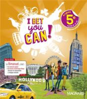 Vente livre :  I Bet You Can ! ; anglais : 5e ; bimanuel élève  - Collectif - Michelle Jaillet