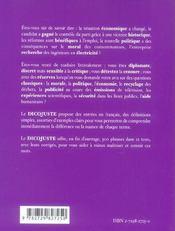 Le Dicojuste Anglais Lexique Des Mots A Ne Pas Confondre - 4ème de couverture - Format classique