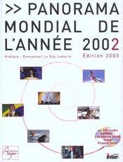 Panorama Mondial 2002 Edition 2003 - Intérieur - Format classique