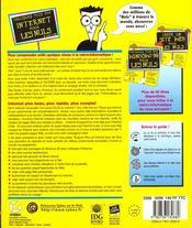 Toujours Plus Sur Internet Pour Les Nuls - 4ème de couverture - Format classique