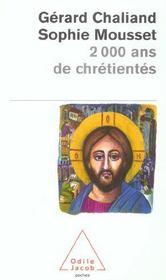2 000 Ans De Chretiente - Intérieur - Format classique
