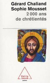 2 000 Ans De Chretiente - Couverture - Format classique