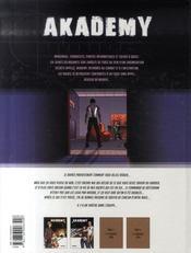 Akademy t.2 ; à balles réelles - 4ème de couverture - Format classique