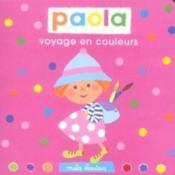 Paola voyage en couleurs - Couverture - Format classique