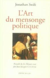 Vente  L'art du mensonge politique  - Jonathan Swift