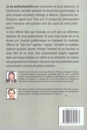 Le Stress Professionnel ; Comment Faire Face ? - 4ème de couverture - Format classique