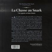 La chasse au Snark ; une agonie en huit chants - 4ème de couverture - Format classique