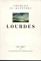 Lourdes - Couverture - Format classique