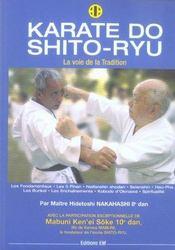 Karate do shito-ryu - Intérieur - Format classique