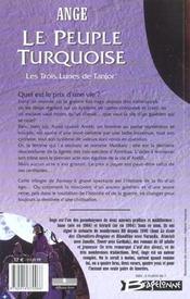 Ayesha t.1 ; le peuple turquoise - 4ème de couverture - Format classique