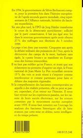 Fascismes ; Un Siecle Mis En Abime - 4ème de couverture - Format classique