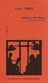 Dialogue en ré majeur - Couverture - Format classique