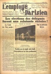 Employe Parisien (L') N°3 du 01/03/1938 - Couverture - Format classique