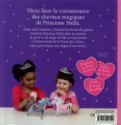Princesse Stella ; Diamant, Le Cheval Des Glaces - 4ème de couverture - Format classique