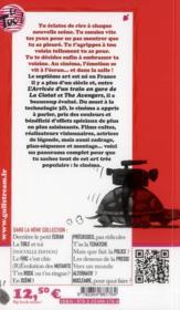 Le cinéma s'affiche - 4ème de couverture - Format classique
