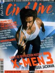 Cine Live - N° 99 - X-Men 3 - Couverture - Format classique