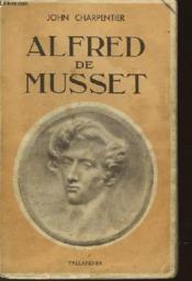 Alfred De Musset - Couverture - Format classique