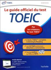 Vente livre :  Le guide officiel du test TOEIC  - Collectif