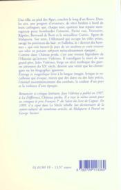 Oiseau De Plomb (L') - 4ème de couverture - Format classique