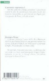 Cantatrix sopranica l. et autres ecrits scientifiques - 4ème de couverture - Format classique