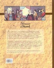Memoire Du Nord - 4ème de couverture - Format classique