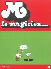 M Le Magicien - 4ème de couverture - Format classique