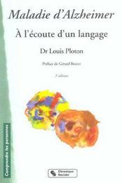 Maladie D'Alzheimer - 3e Edition - Nouvelle Presentation - Intérieur - Format classique