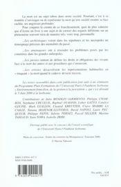 Mort En Ile-De-France - 4ème de couverture - Format classique