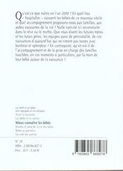 1001 Bb 029 - Naitre - 4ème de couverture - Format classique