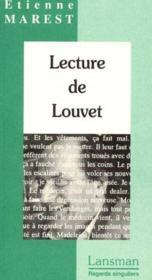 Lecture de jean jouvet - Couverture - Format classique